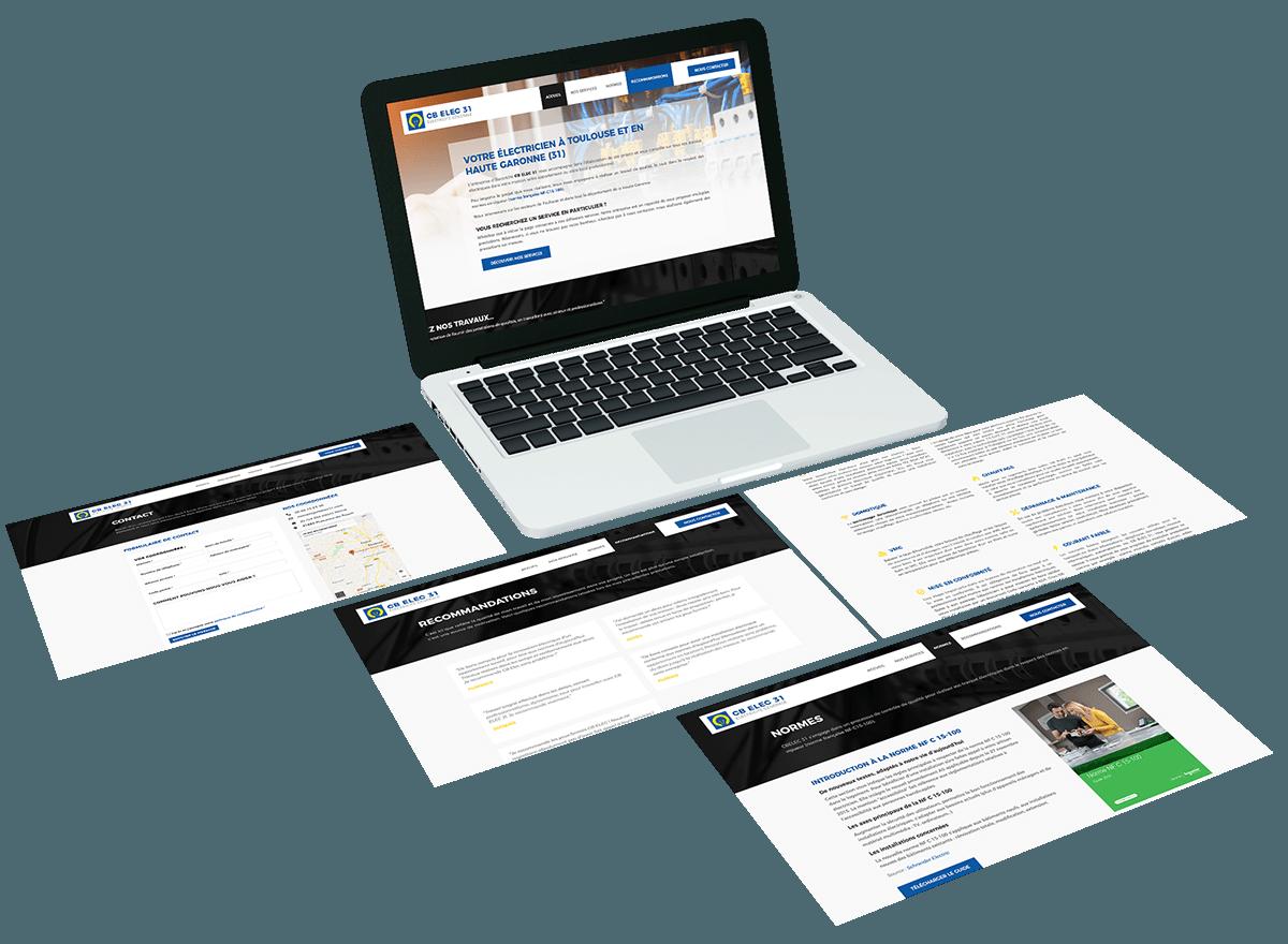 Création de site internet dans les Vosges et en Alsace - Agence Cercledesign (88)